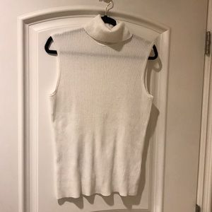 Cable & Gauge sleeveless sweater top size XL